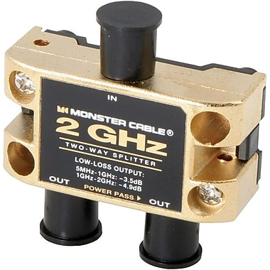 Monster® TGHZ-2RF MKII 2GHz Low-Loss RF Splitter