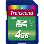 Transcend® 8GB SDHC (Secure Digital High Capacity) Class 4 Memory Cards