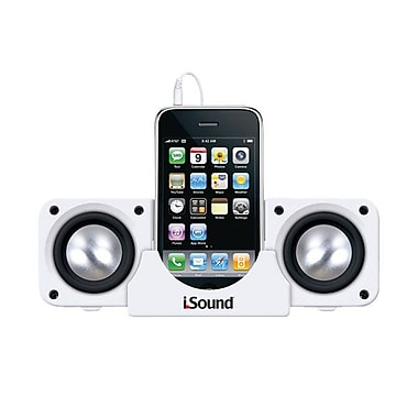 DreamGEAR® i.Sound® DGIPOD-1560 Portable Speaker System, White