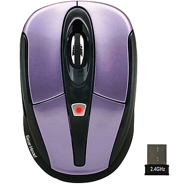 Gear Head® MP2950PUR Wireless Mouse, Purple w/ Black