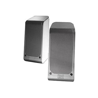 Palo Alto Audio Design SA110B 2.0 musik Speaker System, Silver/White