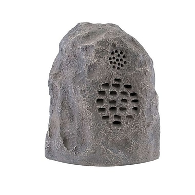 C2G 41312 Add-on Wireless Rock Speaker, Grey/Granite