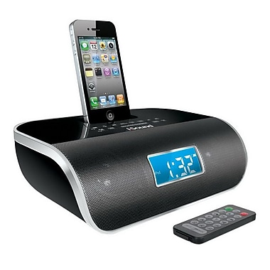 DreamGEAR® i.Sound® DreamTime Pro 1669 Desktop Clock Radio For iPhone/iPod