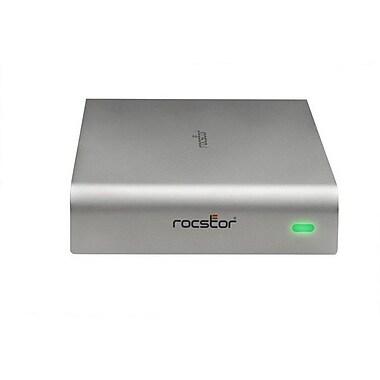 Rocstor® Rocpro 900e 3TB USB 3.0 External Hard Drive, Silver