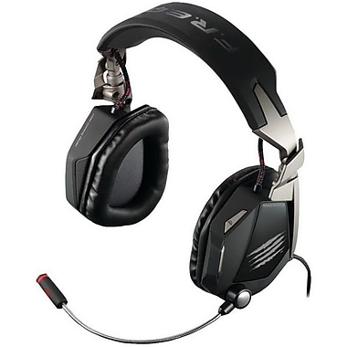 Mad Catz® Cyborg MCB4340300 Over-the-Head Gaming Headset, White