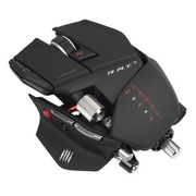 Mad Catz® MCB4370900B2/02/1 R.A.T. 9 Cable Gaming Mouse, Matte Black