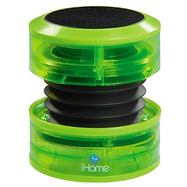 SDI Technologies™ iHM60 Portable Multimedia Speaker, Neon Green