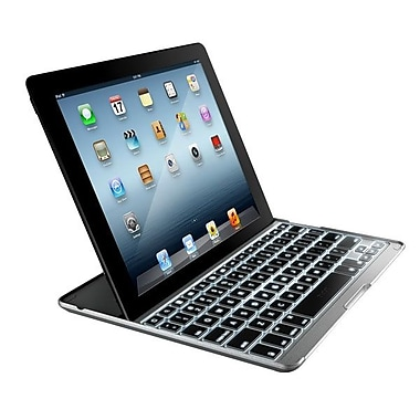 Zagg® Pro Plus Keyboard/Cover Case For iPad 2, iPad 4