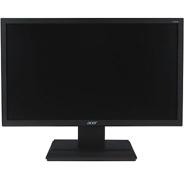 Acer V246HL 24in. Widescreen LCD Monitor, Black