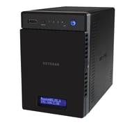 NETGEAR ReadyNAS 104 Diskless Network Attached Storage Server, 512 MB, 110 - 220 VAC