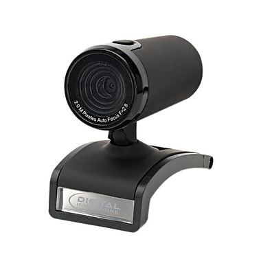 Digital Innovations 4310800 ChatCam Webcam, 2 MP, 1200P, Silver/Black