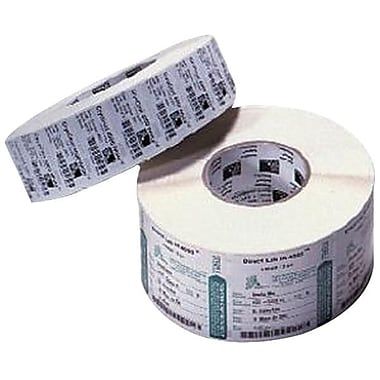 Zebra 3in. x 2in. Perfed White Permanent Adhesive Thermal Transfer Label