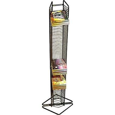 Atlantic 1248 Onyx CD Tower, Matte Black