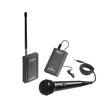 Audio-Technica® TwinMic™ ATR-288W Wireless Microphone System