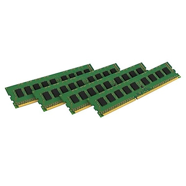 Kingston® 32GB (4 x 8GB) DDR3 (240-Pin DIMM) DDR3 1600 Server Memory