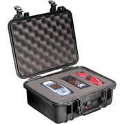 Pelican ™ Black Polypropylene Small Rugged Shipping Case with Foam (1400)