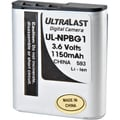 Dantona Ultralast® UL-NPBG1 3.6 VDC Lithium Ion Digital Camera Battery, 1150 mAh