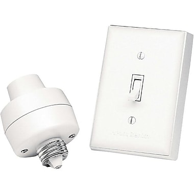 Chamberlain® BL-6138-WH Wireless Switch Lamp Socket, White