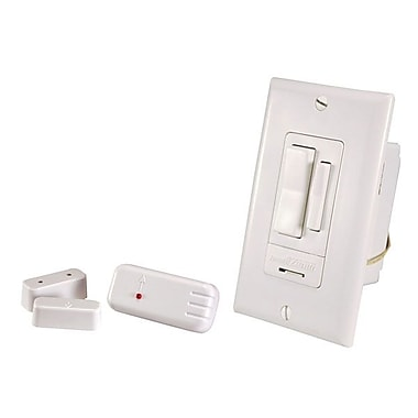 Chamberlain® WC-6055-WH Entry Light Switch Set Wireless, White