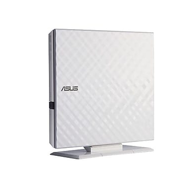 Asus® External Portable DVD Reader, White