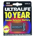 Ultralife U9VL-JPXC 9 V Lithium Battery, -20 deg C To 60 deg C Operating Temperature