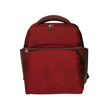 Fabrique 15.4in. Backpack Case For PC, Burgundy