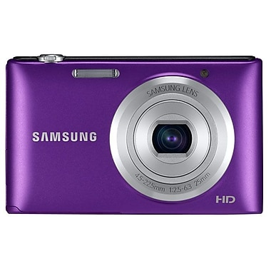 Samsung ST72 16.5 Mega Pixels Digital Camera, Purple