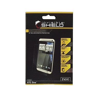 Zagg InvisibleSHIELD® FFHTCM7S Screen Protector For HTC One Smartphone