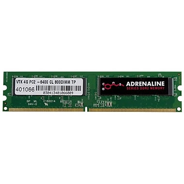 Visiontek® Adrenaline 4GB DDR2 (200-Pin SoDIMM) DDR2 800 (PC2 6400) Laptop Memory