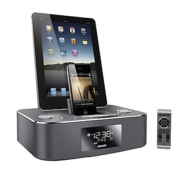 Philips DC390/37 Clock Docking System For iPod/iPhone/iPad