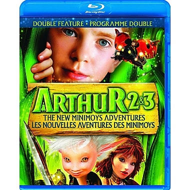 Arthur and the Invisibles 2 & 3: The New Minimoys Adventures (BLU-RAY DISC)