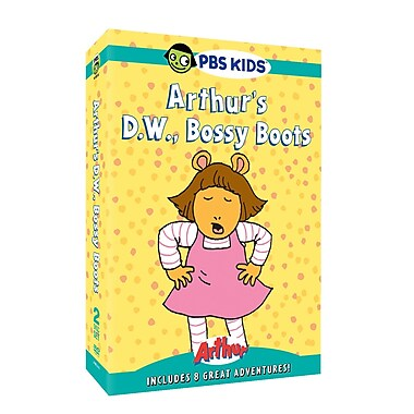 Arthur: D.W., Bossy Boots (DVD)