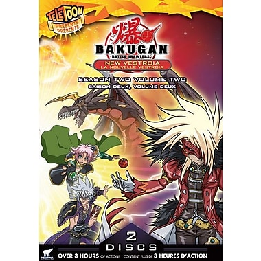 Bakugan Battle Brawlers: New Vestroia Season 2, Volume2 (DVD)