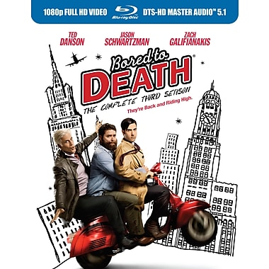 Bored to Death: The Complete Third Season (BLU-RAY DISC)