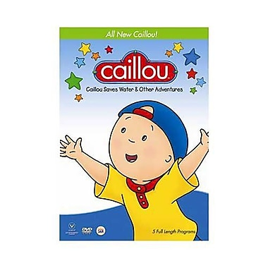 Caillou Saves Water & Other Adventures (DVD)