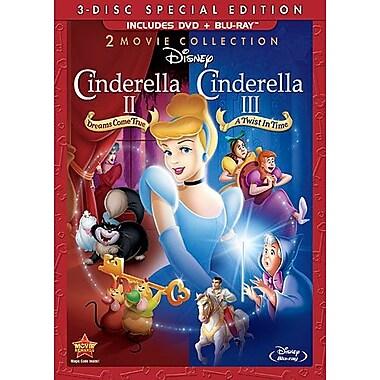 Cinderella II: Dreams Come True/Cinderella III: Twist in Time Special Edition (DVD + BRD)
