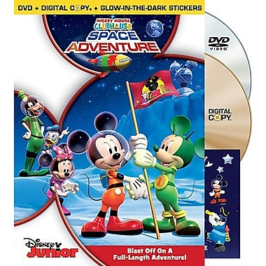 Disney Mickey Mouse Clubhouse: Space Adventure (DVD + Digital Copy)