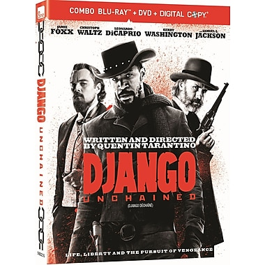Django Unchained (BRD + DVD + Digital Copy)