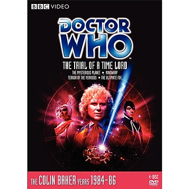 Doctor Who: Ep.144-147: The Trial of a Time Lord (DVD)