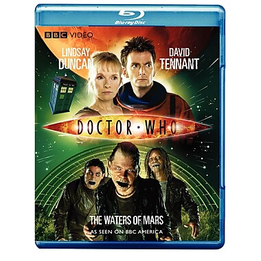Doctor Who: The Waters of Mars (DISQUE BLU-RAY)