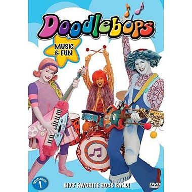 Doodlebops: Volume 1: Music and Fun (DVD)