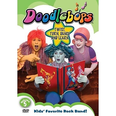 Doodlebops: Volume 5: Twist,Turn, Dance and Learn (DVD)