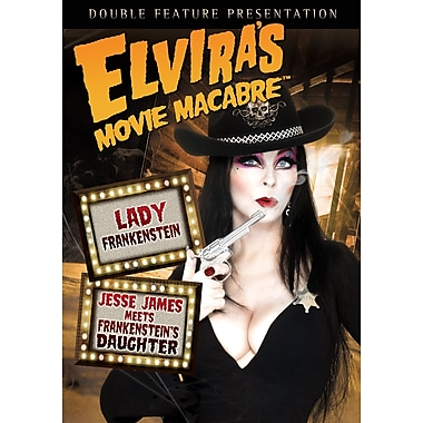 Elvira's Movie Macabre: Lady Frankenstein/Jesse James Meets Frankenstein's Daughter (DVD)