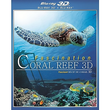 Fascination Coral Reef 3D: Mysterious Worlds Underwater (3D BLU-RAY)