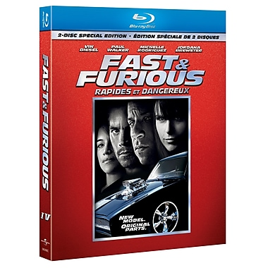 Fast & Furious (BLU-RAY DISC)