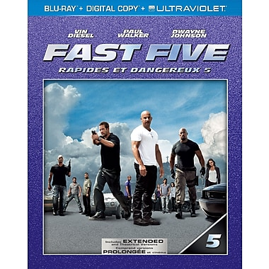 Fast Five (BRD + Digital Copy + UltraV)