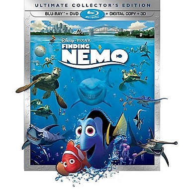 Finding Nemo 3D (3D BRD + BRD + DVD + Digital Copy)