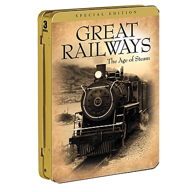 Great Railways: The Age of Steam (DVD)