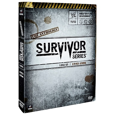 WWE 2009 : Survivor Series Anthology : 199 2-1996 (DVD)