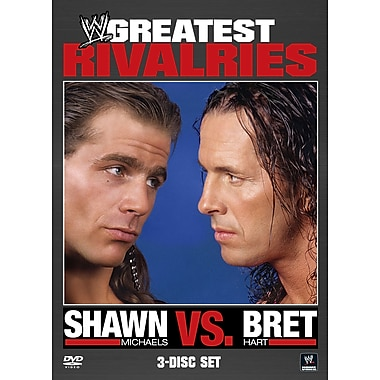 WWE 2011: Greatest Rivalries: Shawn Michaels vs Bret Hart (Blu-Ray)